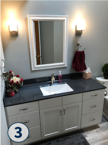 Browse Through Our Bathroom Remodeling Gallery For New Bathroom Ideas.